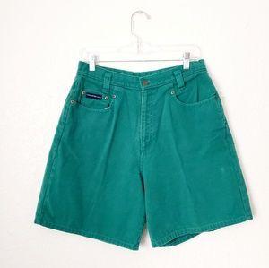 90s Vintage Authenic High Rise Denim Shorts 699